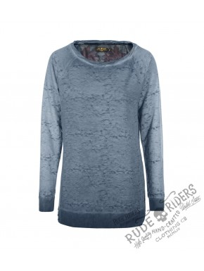 Mex Skull Sweat Mood Indigo