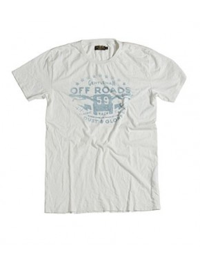 OFF ROADS T-SHIRT WHITE