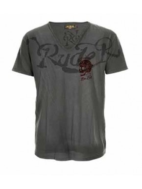 RUDE R. T-SHIRT BLACK