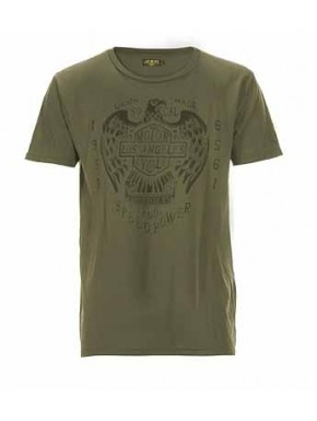 UNION MADE SO. CAL. T-SHIRT OLIVE