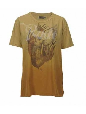 HOT ROAD CUSTOM T-SHIRT GOLD