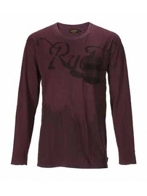 RUDE R. LONGSLEEVES BURGUNDY