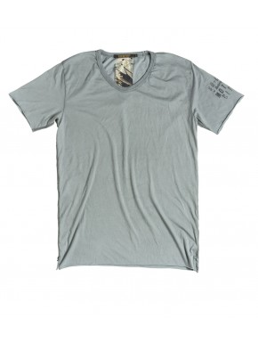L. A. SUMFADED T-SHIRT GREY