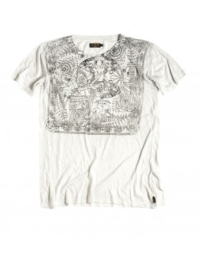 SO. CAL. SKULL T-SHIRT WHITE
