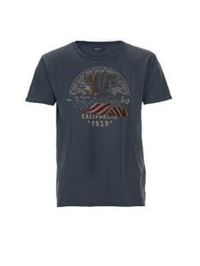 AMERICA EAGLE T-SHIRT BLUE