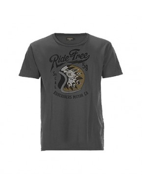 RIDE FREE T-SHIRT BLACK