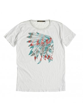 INDIAN CREW T-SHIRT WHITE