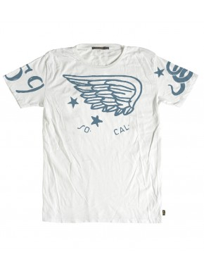 THE FLYING HELMET T-SHIRT WHITE