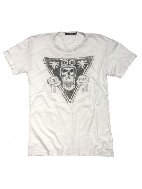 CREW M.C. T-SHIRT STAR WHITE