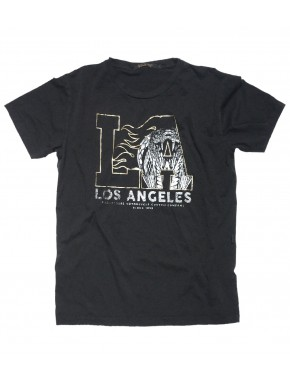 L.A. T-SHIRT ROAD BLACK