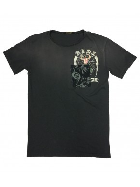WAINE T-SHIRT ROAD BLACK