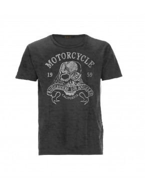 MOTORCYCLE CO. T-SHIRT BLACK