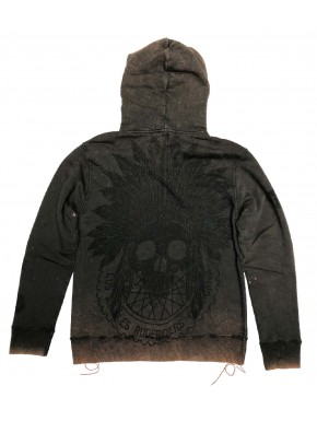 THE INDIAN WHEELS HOODIE ASPEN DAVIDSON