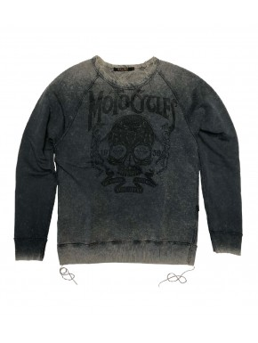 MOTORCYCLES SWEATSHIRT SMOKED PEARL