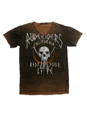RIDE YOUR LIFE T-SHIRT ASPEN DAVIDSON