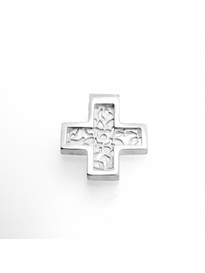 Arabesque Cross Pendant