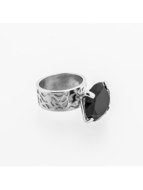 Prinzessinnen Onyx Ring