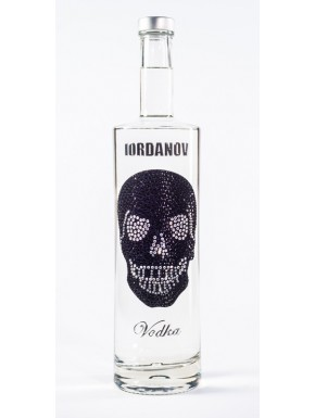 Iordanov Vodka Diamond Skull Edition Rot