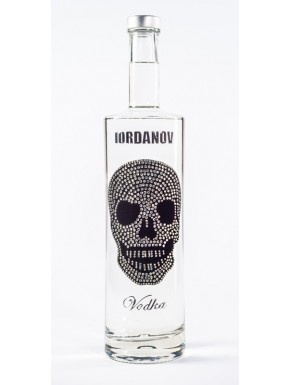 Iordanov Vodka Diamond Skull Edition Schwarz