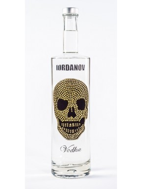 Iordanov Vodka Diamond Skull Edition Silber