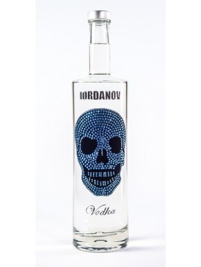 Iordanov Vodka Diamond Skull Edition Gold