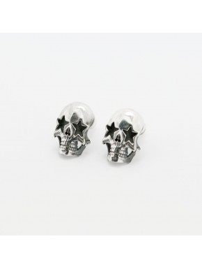 Star Skull Ohrstecker