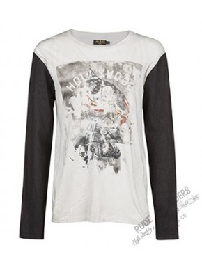 Rock In Hollywood Longsleeveles Star White