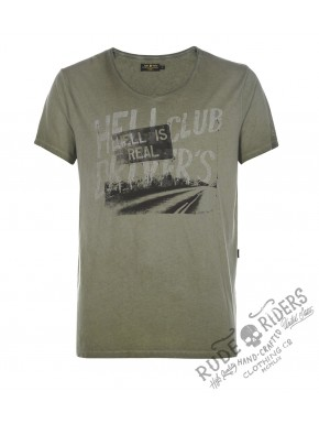 Hell Club T-Shirt Dusty Olive